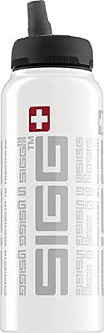 Sigg Trinkflasche Net Siggnificant, White, 1.0 Liter, 8456,20