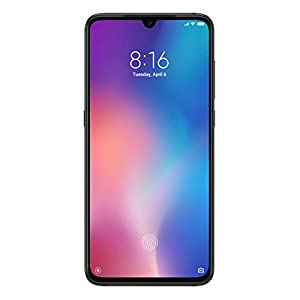 """Xiaomi Mi 9 - Smartphone de AMOLED de 6,39"""" (4G, Octa Core Qualcomm SD 855 2.8 GHz, RAM de 6 GB, memoria de 64 GB, cámara triple de 48 + 16 + 12 MP, Android) color negro piano [Versión española]"""