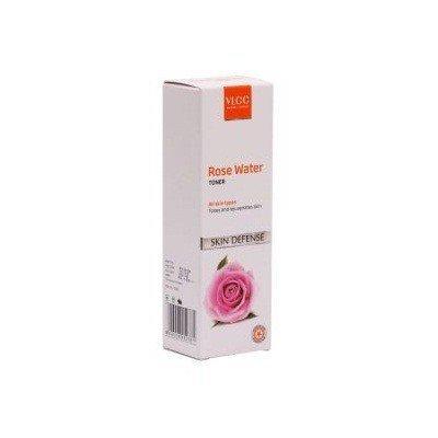 VLCC Natural Sciences Skin Defense Rose Water Toner, 100ml (Pack of 2)