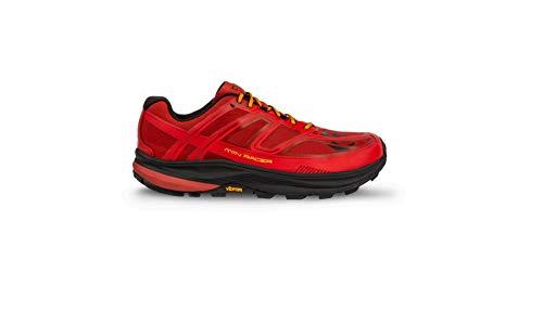 Topo Athletic MTN Racer - Scarpe da Corsa da Uomo, Unisex - Adulto, M033-105-REDORG, Red/Orange, 10.5