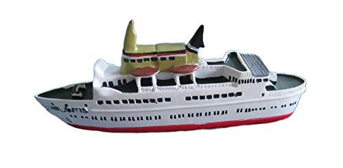 Unbekannt Schiffsmodell Atlantis Miniatur Boot Schiff ca. 12 cm