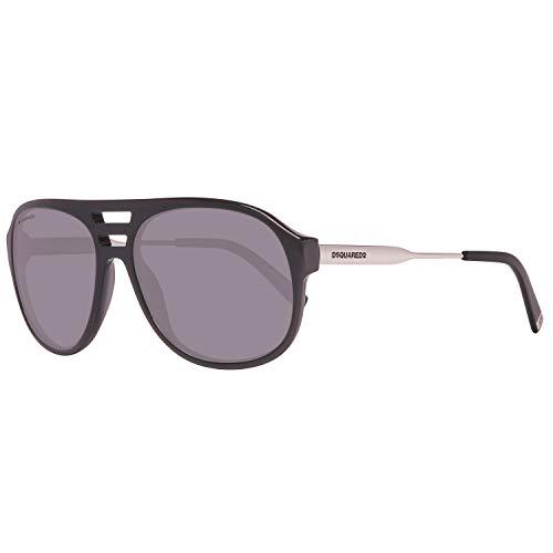 Dsquared2 Herren DQ0185 01C 58 Sonnenbrille, Schwarz,
