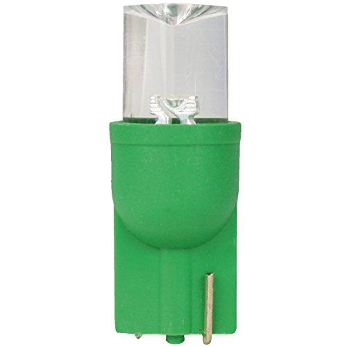 Dectane t10G feu de position lED t10-vert-nombre de 2
