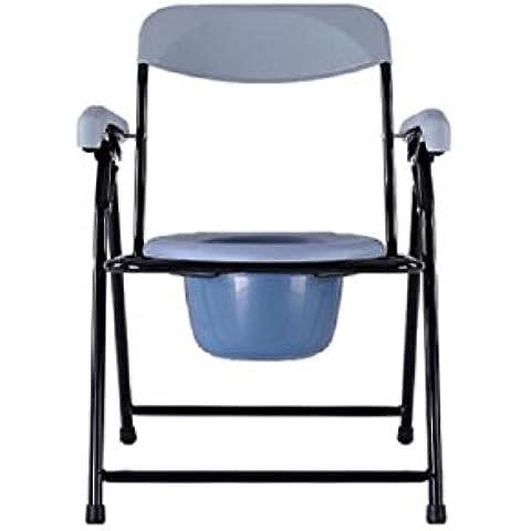 WC móvil el inodoro sillas para el ligero ancianas plegable ducha silla Silla Con Inodoro