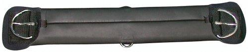 PFIFF PFIFFsoft Westernsattelgurt - Silla de Doma Vaquera para hípica, Color Negro, Talla 50 cm
