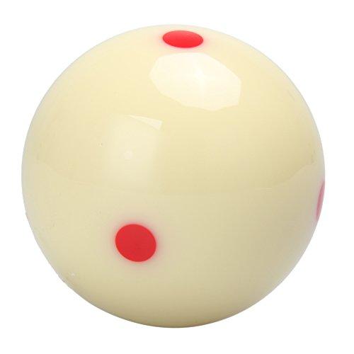 broadroot Billard Praxis Training Cue Ball 21/10,2cm mit 6DOT Spot Measle Pool -