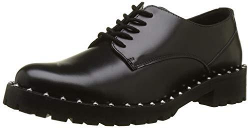 Kickers Rollie, Zapatos de Cordones Derby para Mujer, Negro (Noir 8), 37 EU