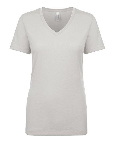 Next Level - T-shirt - Femme Gris - Argent