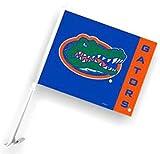 Florida Gators Royal Blue Car Flag W / Orange Vertical Stripe