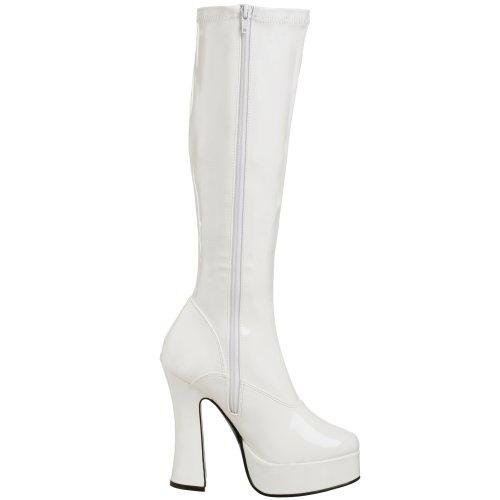 Pleaser - Chaussures Blanc (Weiss (Wht Str Pat))