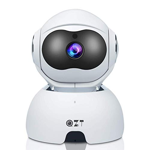 QZT FHD 1080P Wifi IP Camera, Wireless Home Security Camera with Night  Vision, Motion Detection, Indoor Surveillance Monitor for Baby Pet