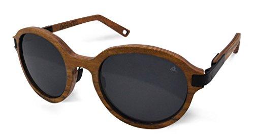 Fento | Lincoln - Handgefertigte Sonnenbrille aus Holz | Design Holz-Sonnenbrille für Damen |...