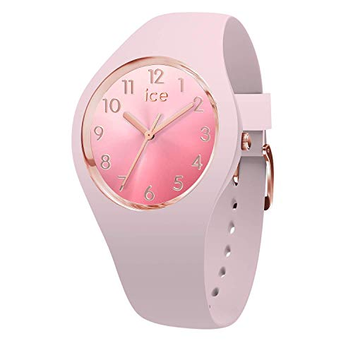 Ice-Watch - Ice Sunset Pink - Montre Rose pour Femme avec Bracelet en Silicone - 015742 (Small)