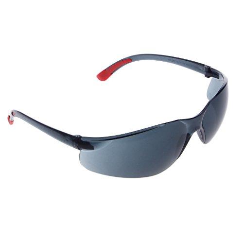 jiamins Sonnenbrille Sicherheit für Moto, Schutzbrille gegen den Wind, Sicherheitsbrille, Safety Goggles, schwarz