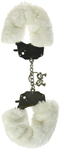 pipedream-fetish-fantasy-furry-love-cuffs-white-1er-pack