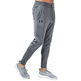 85ccdc33358e Under Armour Mens Ua Storm Icon Tracksuit Fleece Joggers in Grey ...
