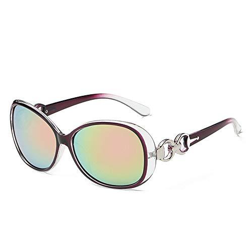 YANKAN Sonnenbrille Womens Gradient Jade Crystal Texture UV-Schutz Blocking Hochwertige Linse - Travel Driving Decoratio