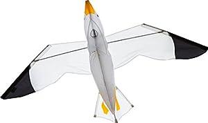 Invento 106510-Seagull 3D einleiner, a Partir de 8años, 75x 140cm poliéster Ripstop 2-4Beaufort