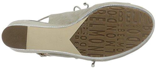 Belmondo Pompes-damen, Chaussures Avec Plate-forme Femme Gris (gris)