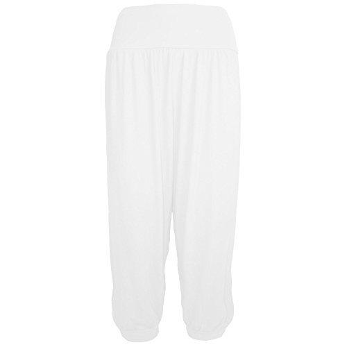 Star Fashion - Legging de sport - Femme Blanc
