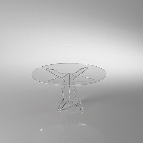 Vesta alzata grande in plexiglass like water trasparente