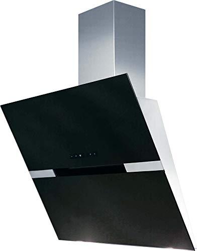 Amica KH 17128-2 E, Kaminhaube Shadow Black, 60 cm, Edelstahl