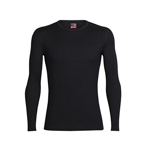 31z dWkBqDL. SS500  - Icebreaker Men's Tech Top Long Sleeve Crewe Bodyfit