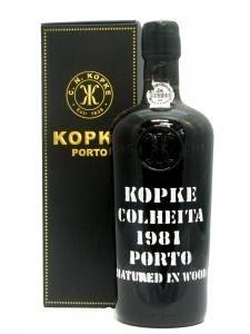 Kopke Vintage Tawny Colheita Port 1981