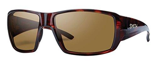 Smith Herren Guides Choice De 96V 62 Sonnenbrille, Braun (Havana/Brown Grey Speckled Lz)