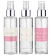 Jack Wills Ladies Body Spray Trio Collection