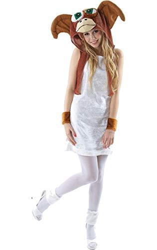 Damen 80er Gremlin Film Halloween Verkleidung Fasching Karneval Kostüm Small (Kostüm Gizmo Erwachsene)