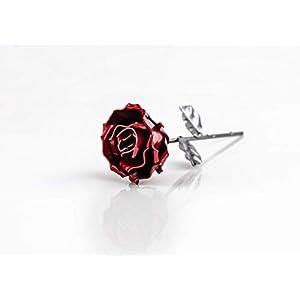 ♥ Eisen Schmiede ewige Rose - Handgemacht - Ideal als Geschenk zum Muttertag, Valentinstag, für die Geliebte, Geburstag, Weihnachten und als Innendekoration by Forging Art Bcn