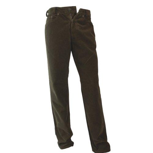 JOKER Feincord-Jeans Harlem Walker Taupe