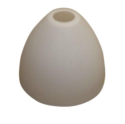 Lampenglas Lampenschirm E27 Deckenfluter Hängelampe opalfarbig 19,6cm weiss KK111 Neu