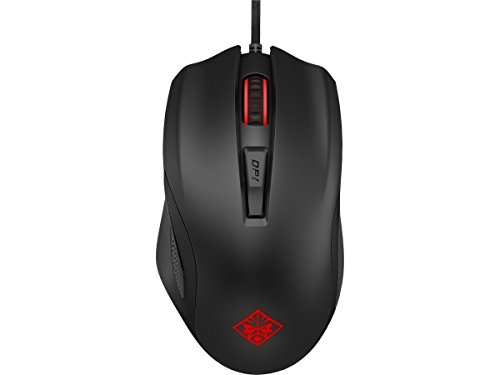 HP Omen 600 Wired USB Mouse with Tactical Traction (Black)