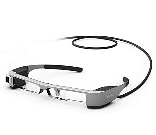 Epson Moverio BT-300 halbtransparente Multimedia-Brille (Augmented Reality (AR) Smart-Brille mit OLED-Display)
