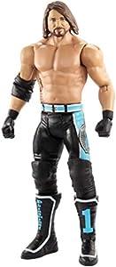 WWE - Figura de Acción Luchador AJ Styles, Juguetes Niños +6 Años (Mattel GCB55)