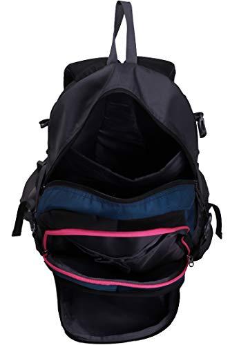 Best college bags for girl in flipkart in India 2020 F Gear Defender V2 45 Liters (Navy Blue, Pink) Rucksack Image 7