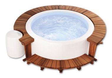 Softub Holzumrandung für Whirlpool