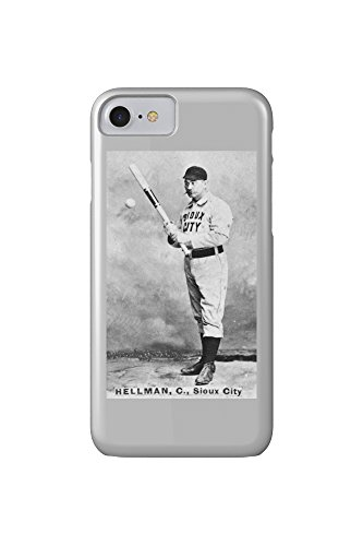 sioux-city-minor-league-tony-hellman-baseball-card-iphone-7-cell-phone-case-slim-barely-there