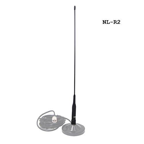 Mobileantenne 2m 70cm Huanuo NL-R2 Duoband VHF UHF Funkgerät Antenne Lang für Car Mobile Transceiver FT-8900R TYT TH-9800 Wouxun KG KG-UV950p KG-UV920R QYT KT-7900D KT-UV980 Plus Uhf Mobile Antenne