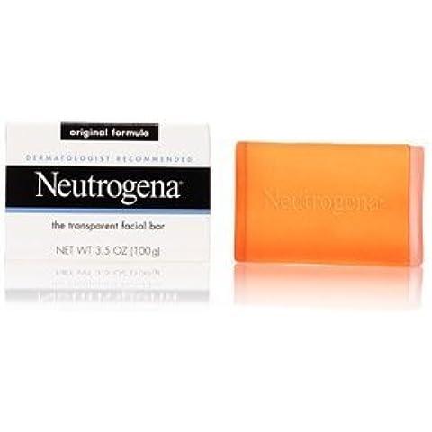 Neutrogena Original Facial Bar 3.5oz (2 Pack) by Nuetrogena