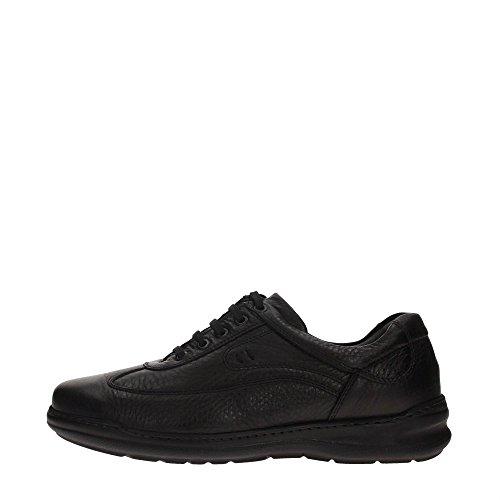Braking 5853 Sneakers Uomo Pelle Nero Nero 41