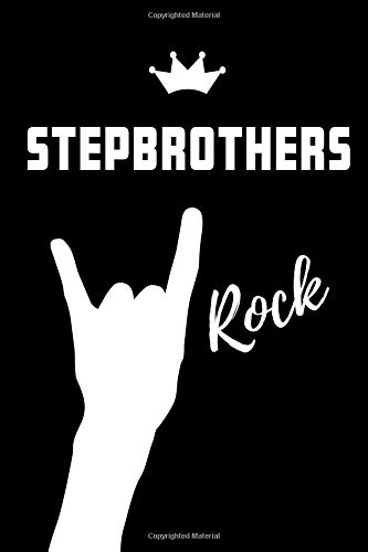 Stepbrothers Rock: Blank Lined Pattern Proud Journal/Notebook as a Birthday, Christmas, Wedding,Anniversary, Appreciation or Special Occasion Gift. - Le Grande Holiday Sticker
