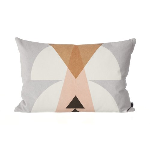 Ferm Living - Inka Cushion - Kissen - Grey - Grau