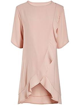 next Mujer Premamá Maternidad Top Blusa Camiseta De Lactancia Manga Corta Con Volantes Cuello Redondo