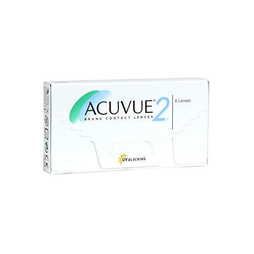 Acuvue 2-Wochenlinsen weich, 6 Stück / BC 8.3 mm / DIA 14 / -2.25 Dioptrien
