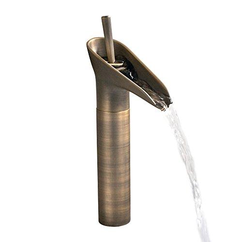 Homelavafans Antik Kupfer Wasserfall Waschtischarmatur Für Bad Waschbecken