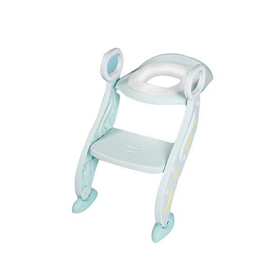 TwoCC-Kissen, Toilettensitz für Kinder in PVC mit weichem Kissen und WC für Baby (Mintgrün)