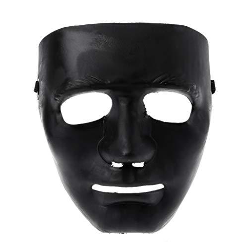 Hip Hop Tanz Crew Kostüm - Shinan Crew-Maske für das ganze Gesicht,